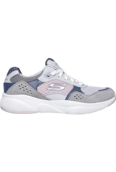 Skechers Meridian-Charted Kadın Gri Spor Ayakkabı 13019 Gypk