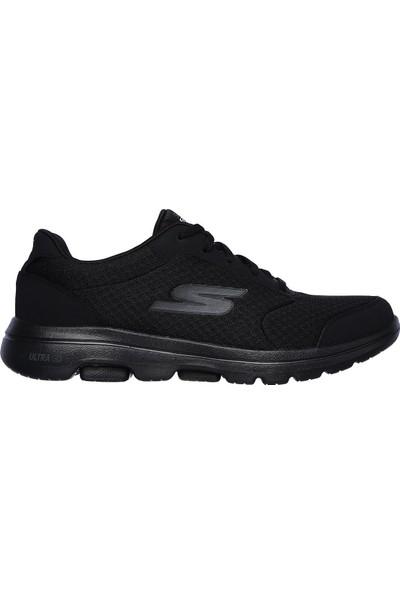 Skechers Go Walk 5 - Qualify Erkek Siyah Yürüyüş Ayakkabısı 55509 Bbk