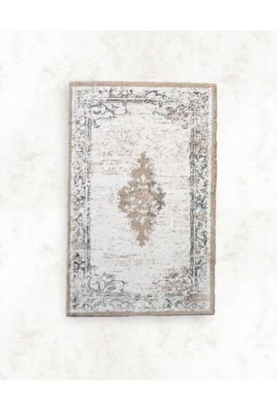 Hera Pamuk Floş Banyo Paspası 80 x 150 Gri