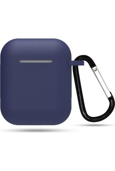 Lomo's Humble LC-KF21012 Apple AirPods Kılıfı - Lacivert