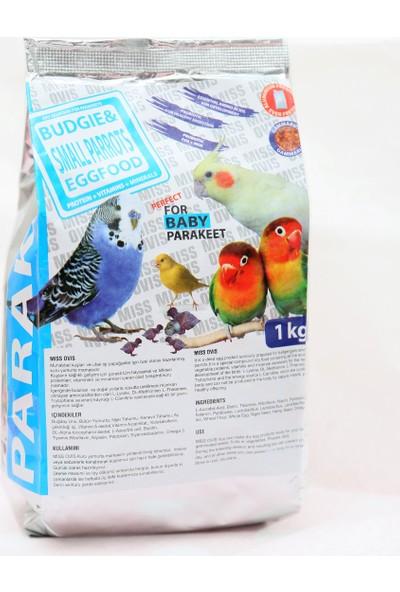 Miss Ovis Muhabbet ve Papağan İçin Mama 1 kg