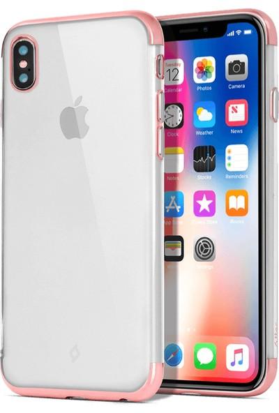 Ttec 2PNS139RA Chromeclear iPhone X Kılıf Rose Gold