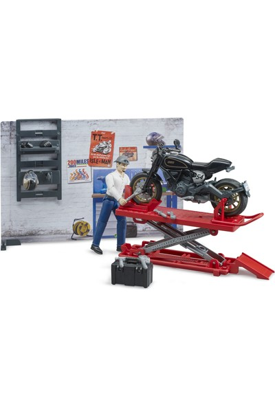 Bruder Motor Tamir Istasyonu BR62101