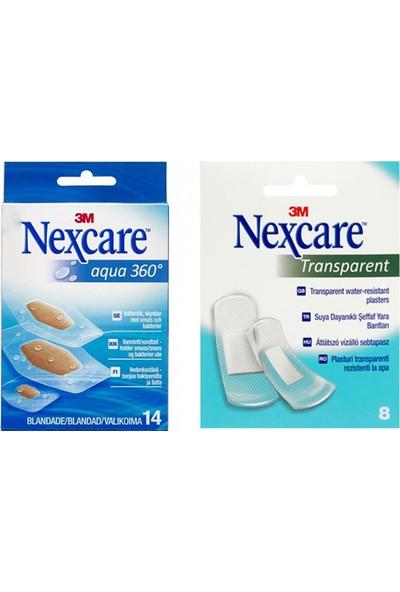 Nexcare Aqua 360 - Nexcare Transparent Bant Seti