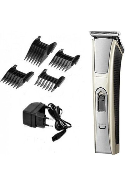 Atasbey Kuaför Tipi Şarjlı 128 Saç Sakal Kesme Traş Tıraş Makinesi