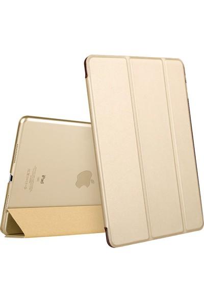 Microsonic Apple iPad Mini 5 7.9'' 2019 (A2133-A2124-A2125-A2126) Smart Case ve Arka Kılıf Gold
