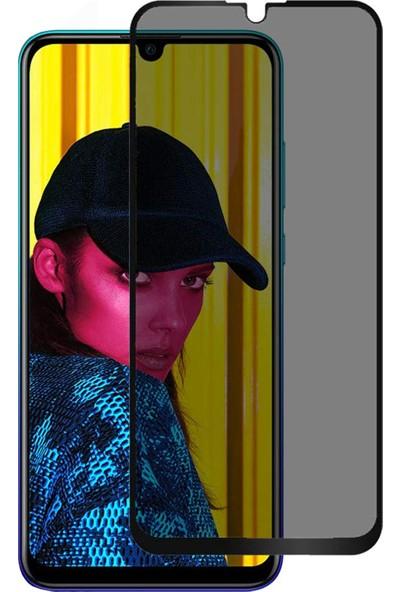 Microsonic Huawei Honor 10 Lite Privacy 5D Gizlilik Filtreli Cam Ekran Koruyucu Siyah
