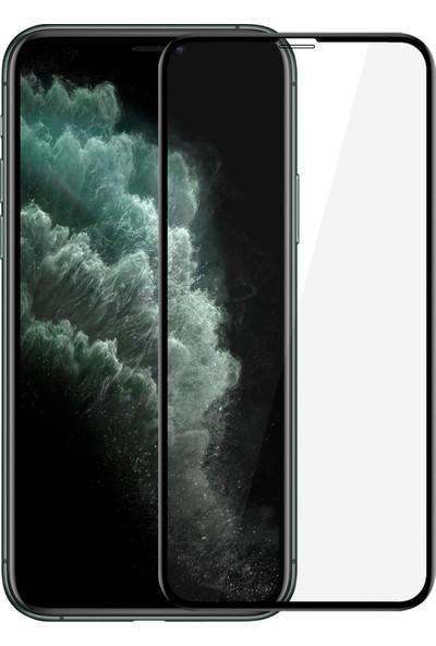 Microsonic Apple iPhone 11 Pro (5.8'') Tam Kaplayan Temperli Cam Ekran Koruyucu Siyah