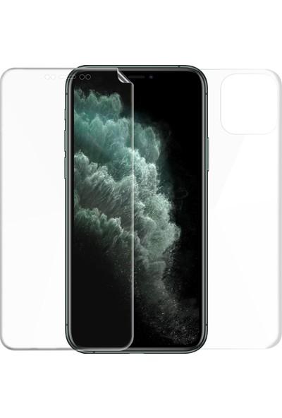 Microsonic Apple iPhone 11 Pro (5.8'') Ön + Arka Kavisler Dahil Tam Ekran Kaplayıcı Film