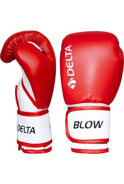 Delta Blow Dura-Strong Kırmızı-Beyaz Boks Eldiveni