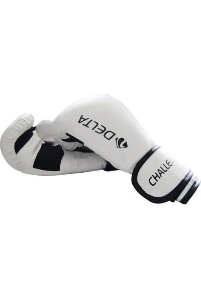 Delta Challenger Dura-Strong Beyaz-Siyah Boks Eldiveni