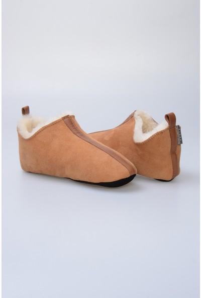 Pegia Kürk Kadın Ev Ayakkabısı 980521