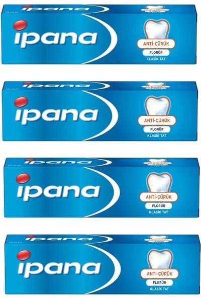 İpana Anti Çürük Diş Macunu 50 ml x4'lü
