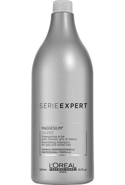 L'Oréal Professionnel Serie Expert Magnesium Silver Gri Beyaz Saç Şampuan 1500 Ml