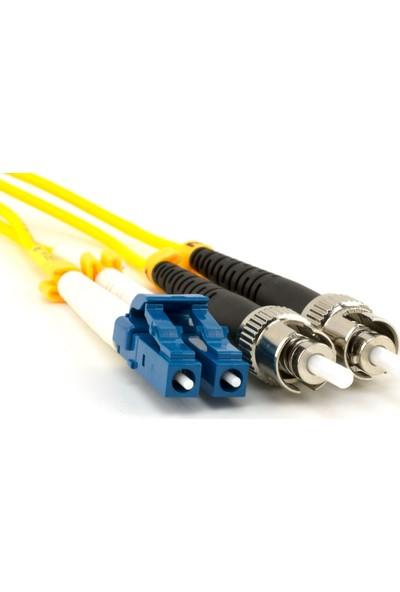 Fotesk F/o Sm St-Lc Dublex Fiber Optik Patchcord Singlemode 2 mt