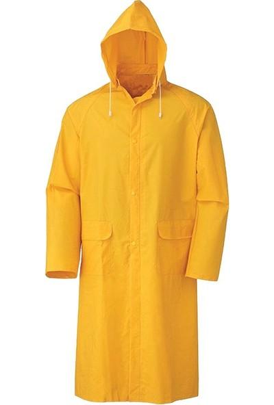Kant Astarlı 0,32 Mic Sarı Pardesü Yağmurluk