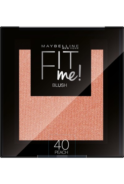Maybelline New York Fit Me Allık - 40 Peach