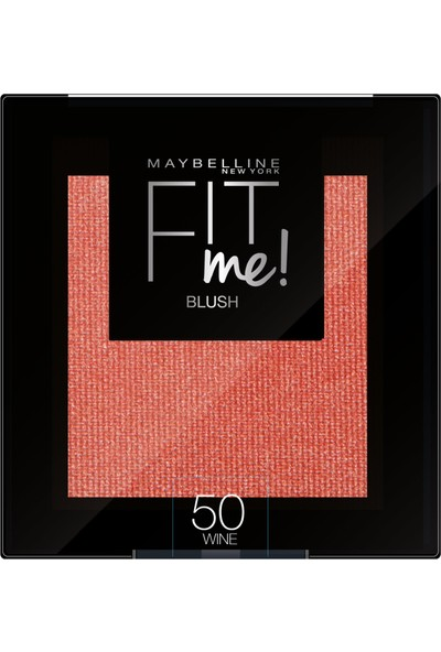 Maybelline New York Fit Me Allık - 50 Wine
