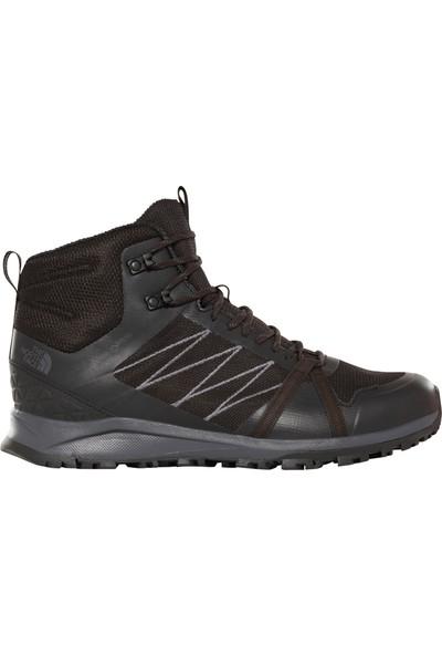 The North Face Litewave Fastpack II Mid GTX Erkek Ayakkabı Siyah/ Kahverengi