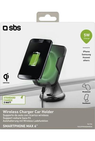 Sbs Araç İçi Telefon Tutucu ve Wireless Şarj Cihazı 5W