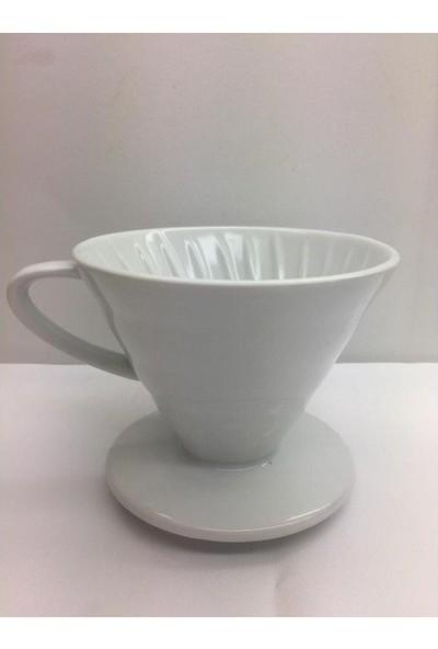 Kütahya Porselen V60 Damlama Filtre Kahve Fincanı
