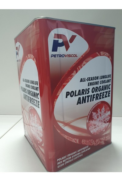 Viscol Polaris Organik Antifriz 16 Kg