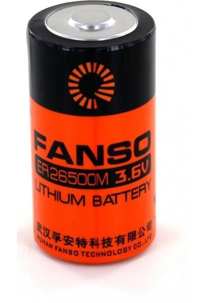 Fanso ER26500M C Size Orta Boy 3.6V Lithium Pil