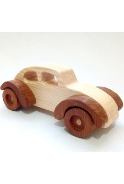 İcat Çıkartıyoruz Ahşap Woswos Oyuncak Araba