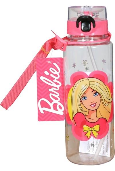 Bahat Barbie Lisanslı Kız Çocuk Kırılmaz Polikarbon Matara 500 ml