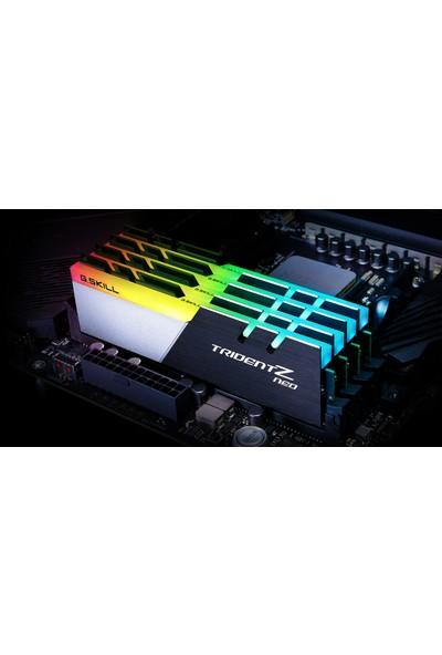 GSkill Trident Z Neo RGB 32GB (2x16GB) 3200MHz DDR4 Ram F4-3200C16D-32GTZN