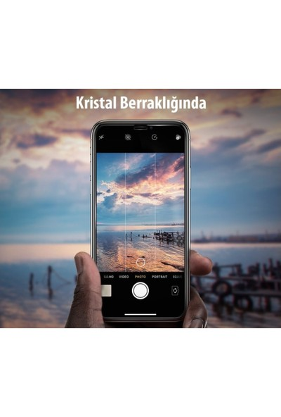 Tekno Grup HTC One M9 Plus Cam Ekran Koruyucu