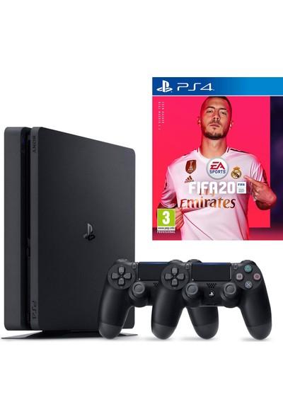 Sony PS4 Slim 1 TB Oyun Konsolu + PS4 FIFA 20 + 2. PS4 Kol