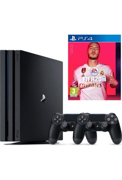 Sony PS4 Pro 1 TB Oyun Konsolu + PS4 FIFA 20 + 2. PS4 Kol (Eurasia Garantili)