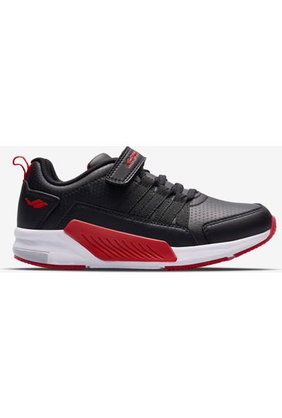 Lescon Tiger Çocuk Spor Ayakkabı Siyah Kırmızı