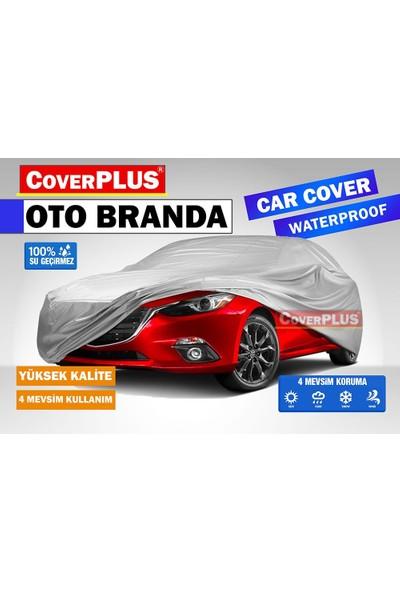 Coverplus Audi A3 Sedan Oto Brandası Araba Çadırı Gri