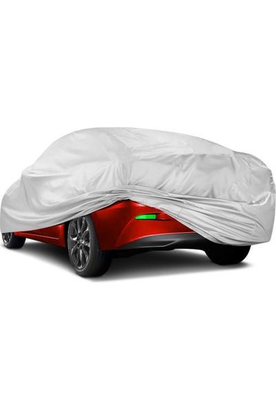 Coverplus Opel Corsa E Oto Brandası Araba Çadırı Gri