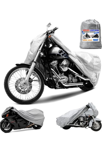 Coverplus Piaggio Medley 150 Motosiklet Brandası Gri