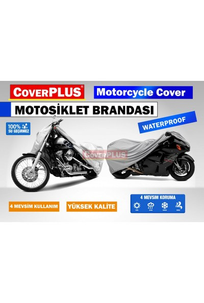 Coverplus Mv Agusta F4 1000 R Motosiklet Brandası Gri