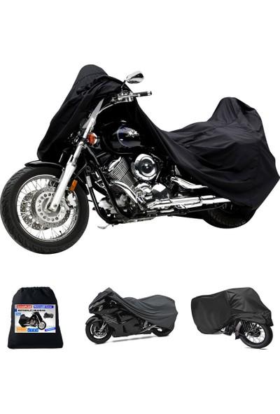 Coverplus Yamaha Ybr 125 Motosiklet Brandası Siyah