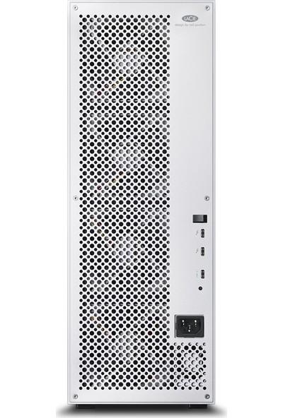 "Lacie STFJ168000400 3.5"" 168TB 12Big 2x Thunderbolt3 + USB 3.1 RAID 0/1/5/6/10/50/60 Harici Disk"