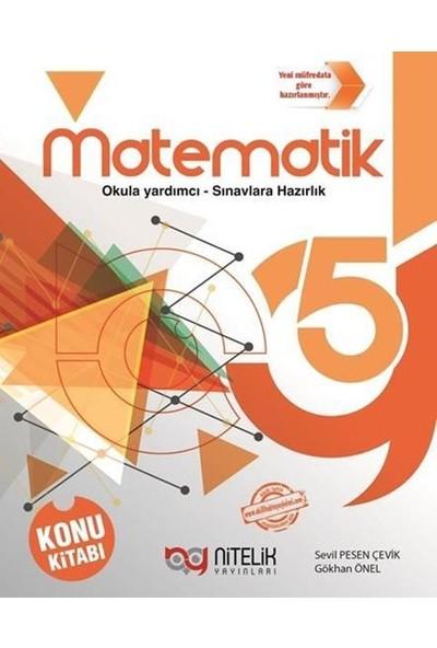 Nitelik 5. Sınıf Matematik Konu Kitabı