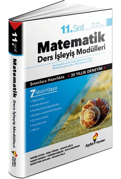 Aydın Yayınları 11. Sınıf Matematik Ders İşleyiş Fasikülleri - 7 Modül Kitapçık