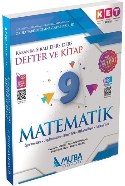 Ket Serisi 9.sınıf Matematik Defter ve Kitap Video Çözümlü
