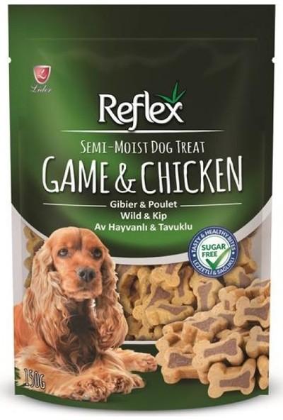 Reflex Yarı Yumuşak Ödül Maması Av Hayvanlı & Tavuklu 150 Gr