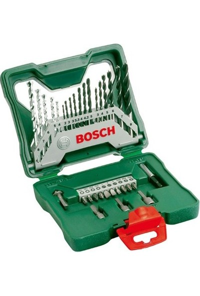Bosch Bosch EasyImpact 570 Darbeli Matkap + 33 Parça X-Line Aksesuar Seti