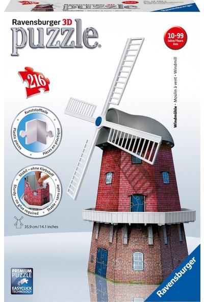 Ravensburger 3D Puzzle Değirmen 125630 - 216 Parça