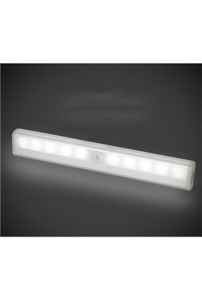 Triline 10 Led'li Pır Ampul Hareket Sensörlü Akıllı Işık Aydınlatma