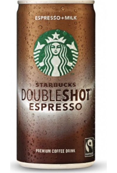 Starbuck's Doubleshot 200 ml 4'lü Set