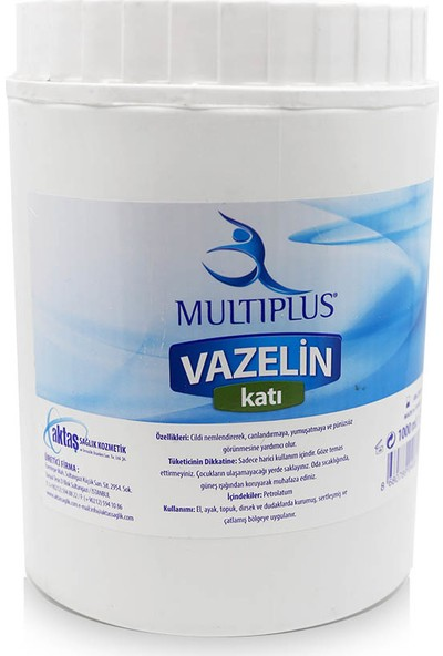 Multiplus Katı Vazelin 1000 ml