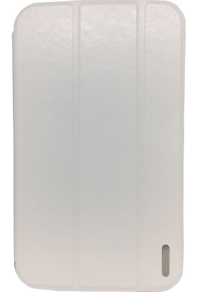 "Cepmarketim Samsung Galaxy Tab 3 8"" T310 Smart Cover Ultra İnce Standlı Beyaz"